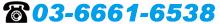 TEL:03-6661-6538